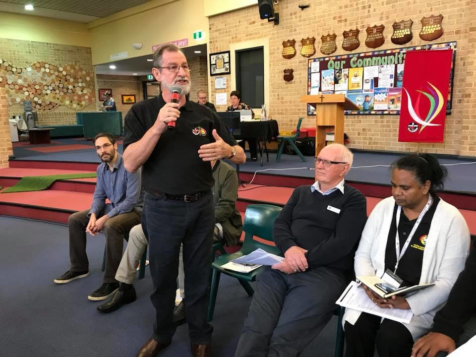 We are in the land, Uniting Church Australia