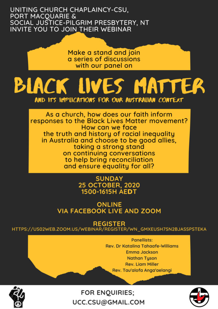 No room for racism, Uniting Church Australia