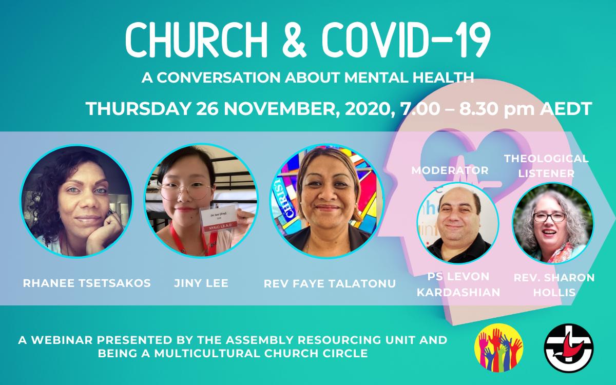 Webinar: Mental Health, Uniting Church Australia