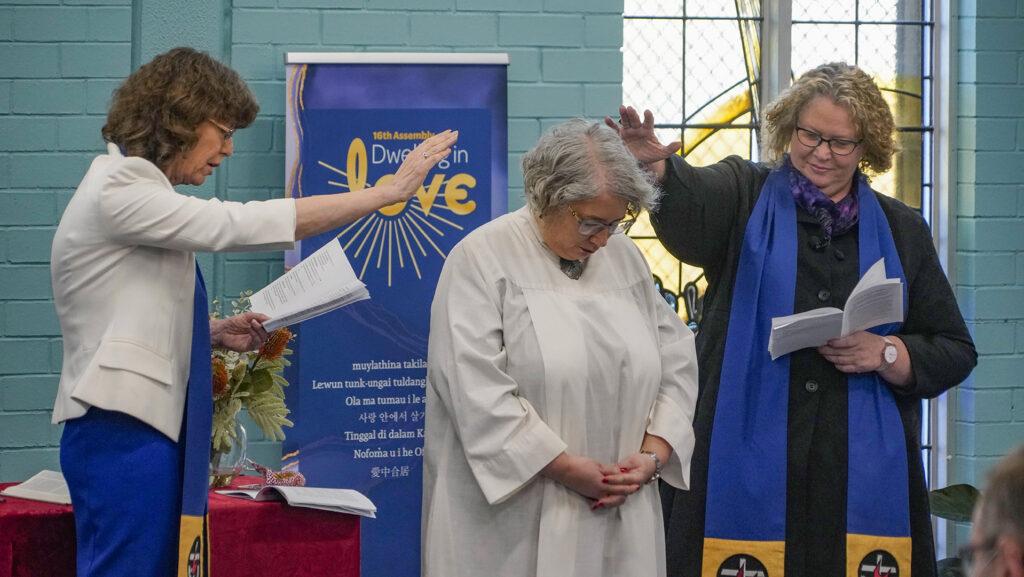Installation of Rev Sharon Hollis, Uniting Church Australia