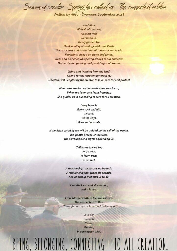 Season of Creation 2021, Uniting Church Australia